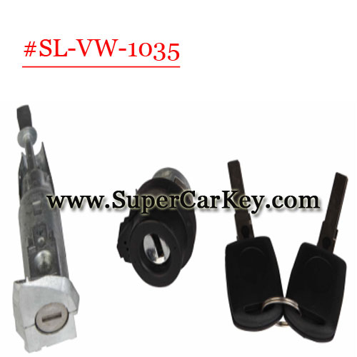 (SL-VW-1035)Car Lock For VW  Skoda Superb lock full set