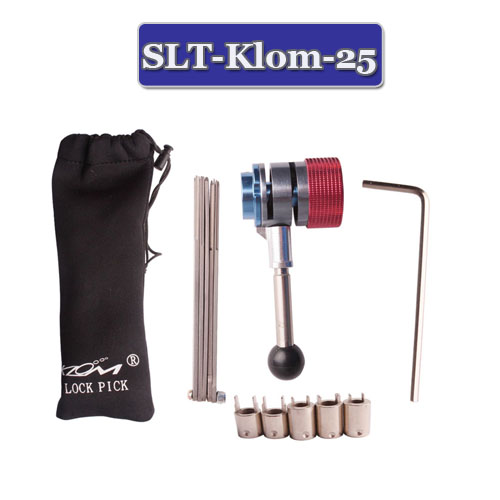 Klom Lock Smith Tool All Purpose Auto Lock Pick Set 5 In 1 Set