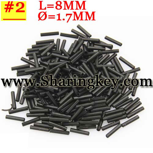 Pin For Flip Key Type#2(8*1.7MM)(50pcs/lot)