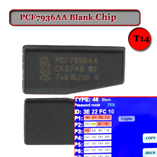 Blank PCF7936AA Transponder Chip (Replace PCF7936AS)