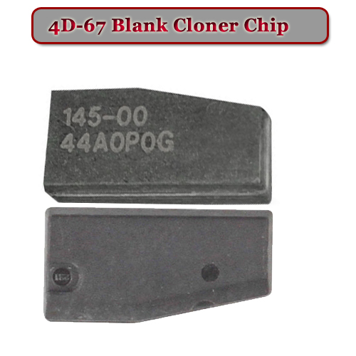 ID 4D-67  blank Chip For Toyota