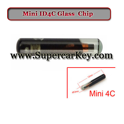 Mini ID4C Glass  Transponder Chip(replace 4c carbon)