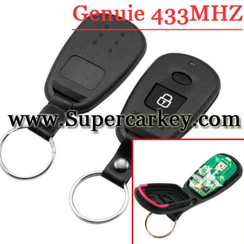 Genuine 2 Button Remote Control For Hyundai Elantra 433MHZ