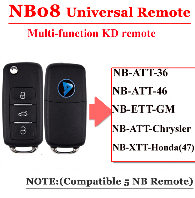 NB08  3 Button Remote For KD900 Machine(Universal Type)