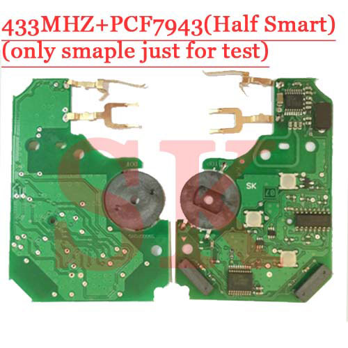 Repair pcb set(w/o pcf7943 )For Smart Renault Megane card