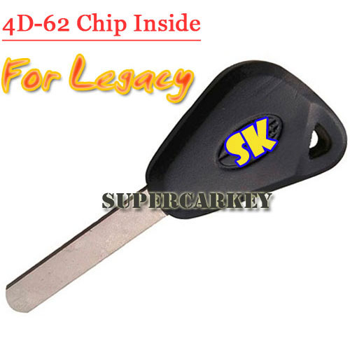 Transponder Key With 4D-62 Chip For Subaru Legacy Outback